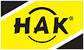 HAK velkoobchod s vodárenským materiálem - logo